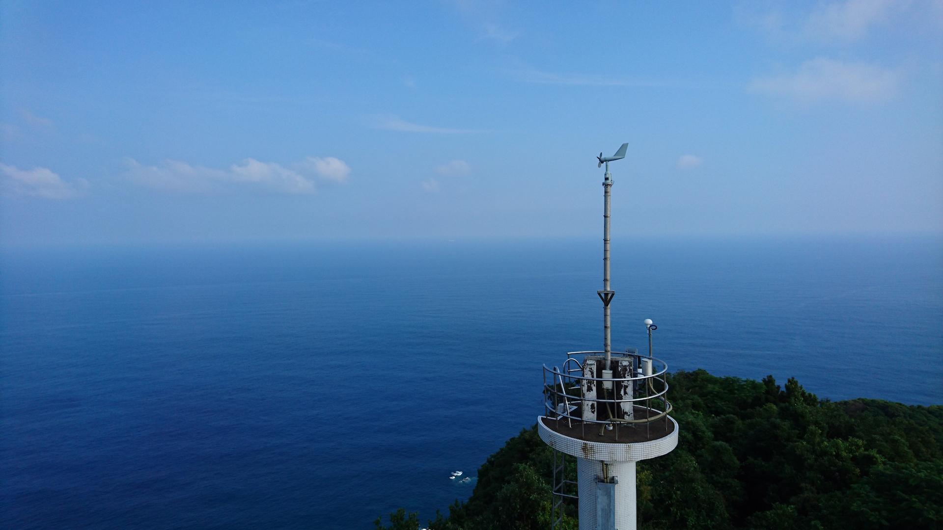 都井岬灯台からの眺め