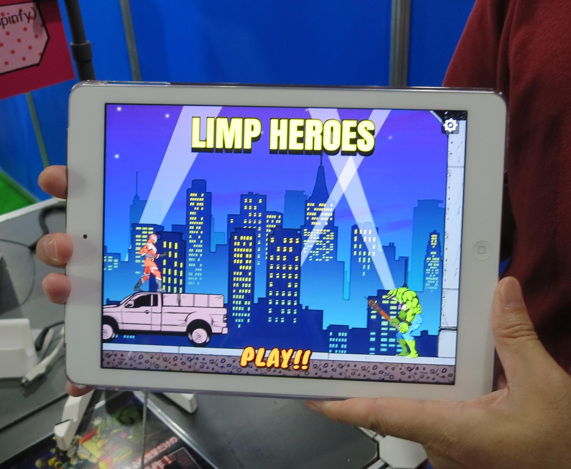 LIMP HEROESゲーム画面